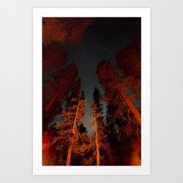 Long exposure at Yosemite Art Print