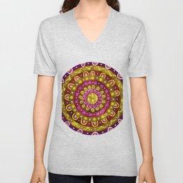 Nurturing Hug Mandala Unisex V-Neck