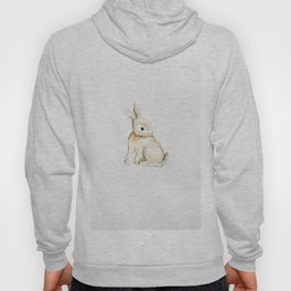 Easter bunny watercolor Hoody