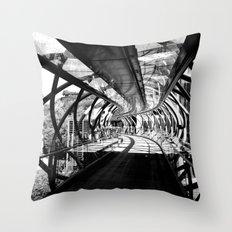 Bridge to Edinburgh, Scotland Throw Pillow