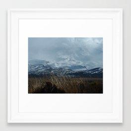 Mt. Whakapapa, NZ Framed Art Print