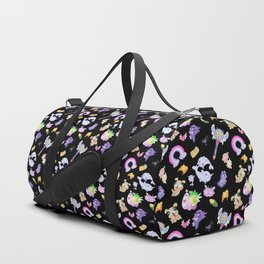 Star vs the Forces of Evil Pattern ( black ) Duffle Bag