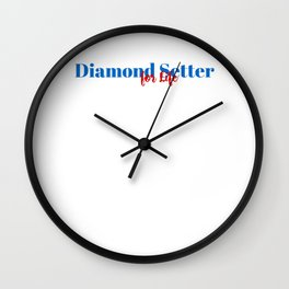 Diamond Setter for Life Wall Clock