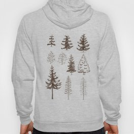 Pines and Spruces Hoody