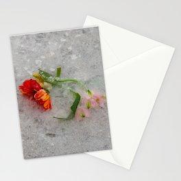 pretty frozen Stationery Cards