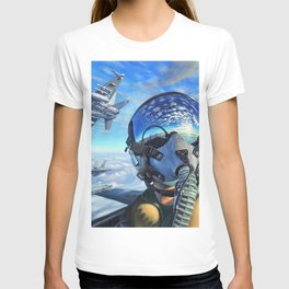 Spanish McDonnell Douglas F/A-18 Hornet Squadron Ultra HD T-shirt
