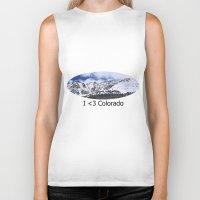 colorado Biker Tanks featuring Colorado by Chris Root