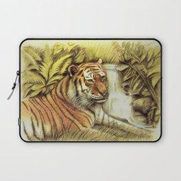 Tiger in free Wilderness Laptop Sleeve