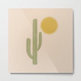 El Desierto Metal Print