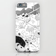 Woodland critters (uncoloured) Slim Case iPhone 6s