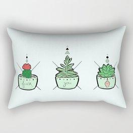 F*ck You Succulents Rectangular Pillow