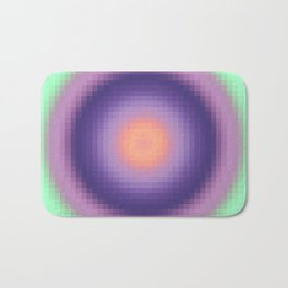 Ripple I Pixelated Bath Mat