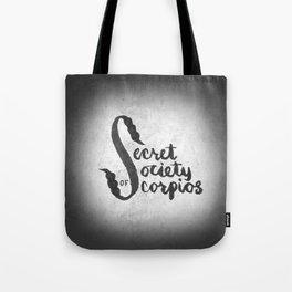 Secret Society of Scorpios Tote Bag