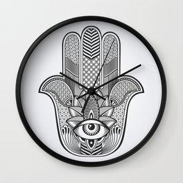 Hamsa Custom Wall Clock