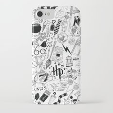 Hogwarts, Hogwarts, Hoggy Warty Hogwarts iPhone 7 Slim Case