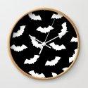 Black & White Bats Pattern by thewellingtonboot