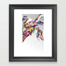 Spiral Static Framed Art Print