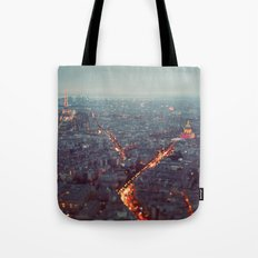 Blue Hour in Paris. Tote Bag