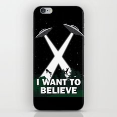 I want to believe iPhone & iPod Skin