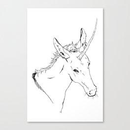 Unicornis Canvas Print