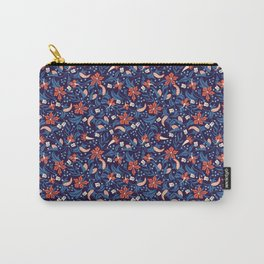 Moonlit Jungle Floral Carry-All Pouch