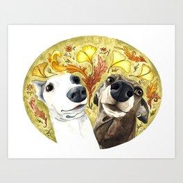Italian Goofballs Art Print