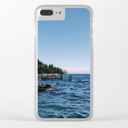 Meeks Bay Vista Clear iPhone Case