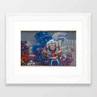 rock and roll Framed Art Prints featuring Rock&Roll by Roberto Pagani