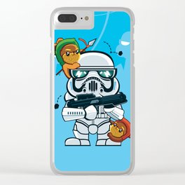 Storm Trooper Clear iPhone Case