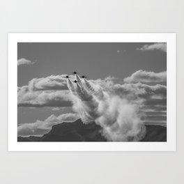 Angels Cometh Art Print