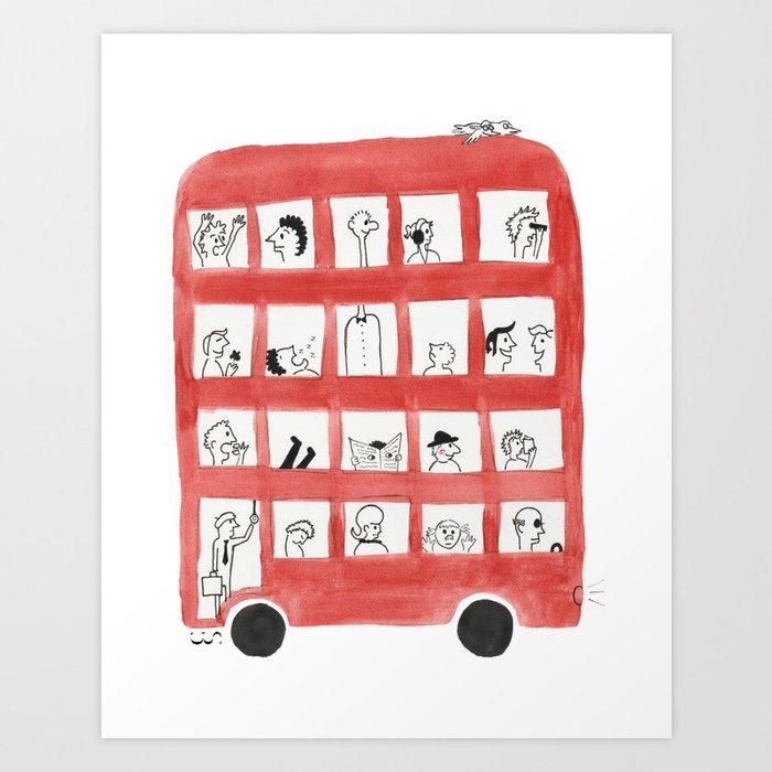 Bus Art Print