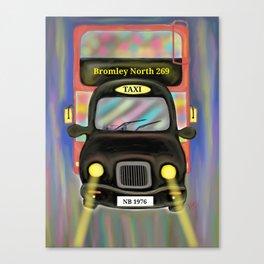 London Commute Canvas Print