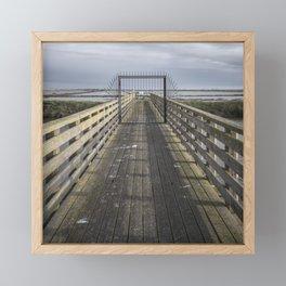 Delta - Gate Framed Mini Art Print