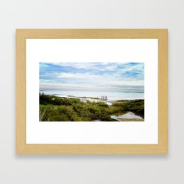 On The Coast Framed Art Print