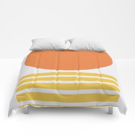 Geometric Form No.5 Comforters