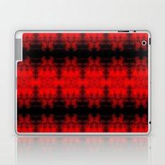 Red Black Diamond Gothic Pattern Laptop & iPad Skin