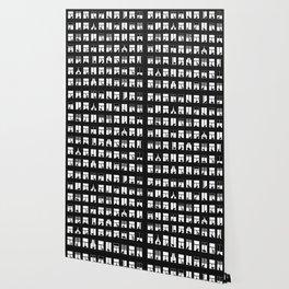 Feline Towers Wallpaper