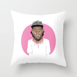 Tyler the Creator Throw Pillow