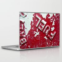 pocket fuel Laptop & iPad Skins featuring Fuel by AmandaMuses
