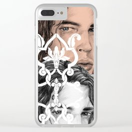 And I'm lost behind Clear iPhone Case