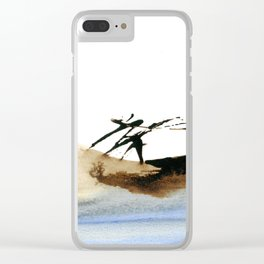 Going back home Clear iPhone Case