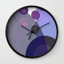 Abstract 2020 005 Wall Clock