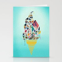 icecream Stationery Cards featuring icecream by StraySheep