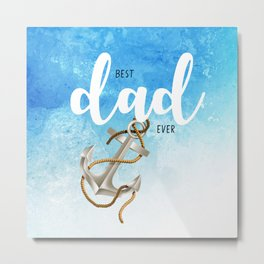 Best father #5 in the world | Father's day Metal Print