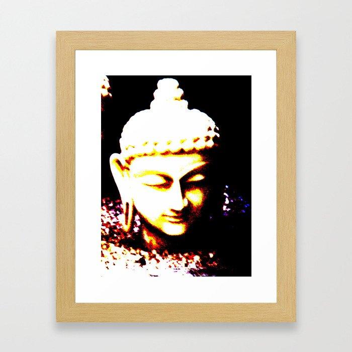 Buda Love Framed Art Print