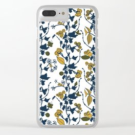 Autumn flowers 2 Clear iPhone Case