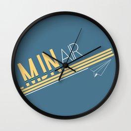 MJN Air Wall Clock