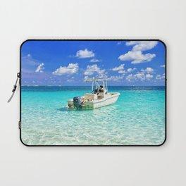 Beautiful Bahamas Ocean Laptop Sleeve