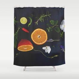 Edible Garden Shower Curtain