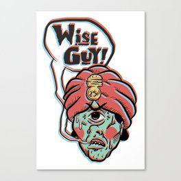 Wise Guy! Canvas Print